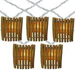 10-Light Bamboo String Lights