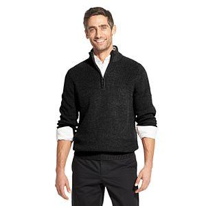 Men's IZOD Sherpa-Collar Quarter-Zip Sweater