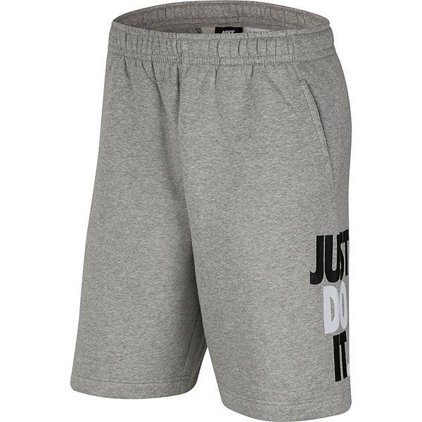 Men's Nike Sportswear Just Do It Fleece Shorts