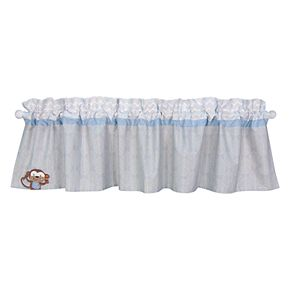Baby Boy Trend Lab Jungle Fun Window Valance