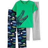 Boys 4-12 Carter's Graphic 3-Piece Pajama Set