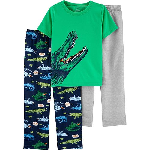 Boys 4-12 Carter's Graphic 3-Piece Pajama Set