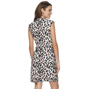 Women's Sharagano Print Shift Dress