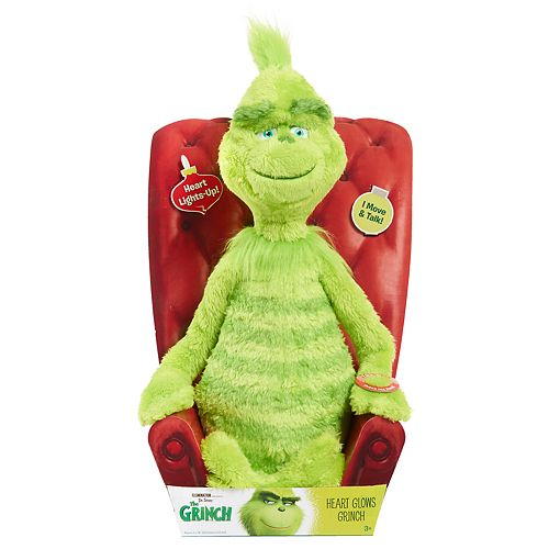 Just Play Grinch Feature Plush