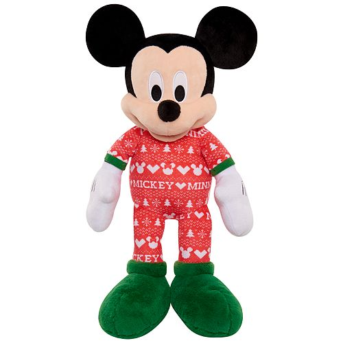 Just Play Disney's Mickey Mouse Classics Holiday Large Plush Mickey