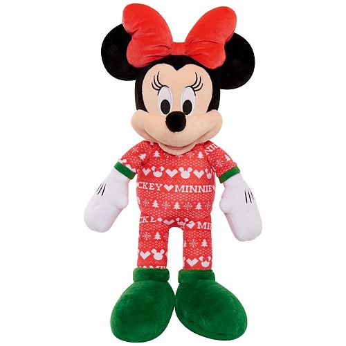 Just Play Disney's Mickey Mouse Classics Holiday Large Plush Minnie