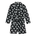 Boys 8-20 Urban Pipeline? Microfleece Lightweight Printed Robe