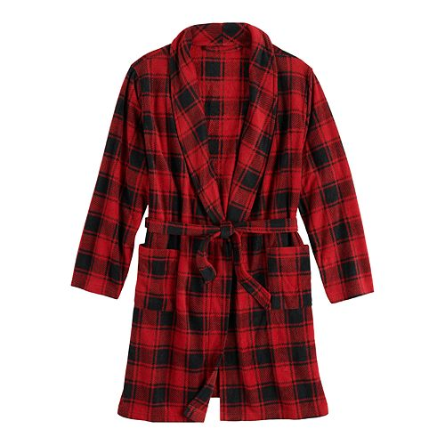 Boys 8-20 Urban Pipeline™ Microfleece Lightweight Printed Robe