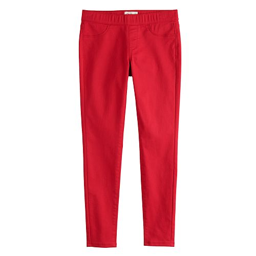 Girls 7-16 SO® Cozy Pull-On Jeggings