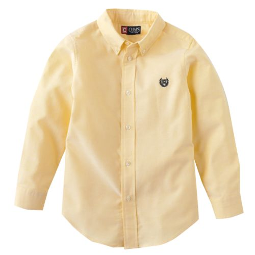 Chaps Solid Oxford Button-Down Shirt