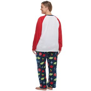 Disney / Pixar's Toy Story 4 Plus Size Top & Bottoms Pajama Set by Jammies For Your Families