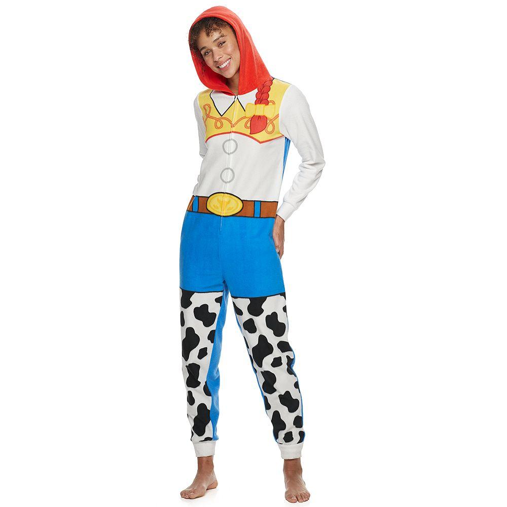 Disney / Pixar's Toy Story Women's Jessie Microfleece One-Piece Pajamas by Jammies For Your Families