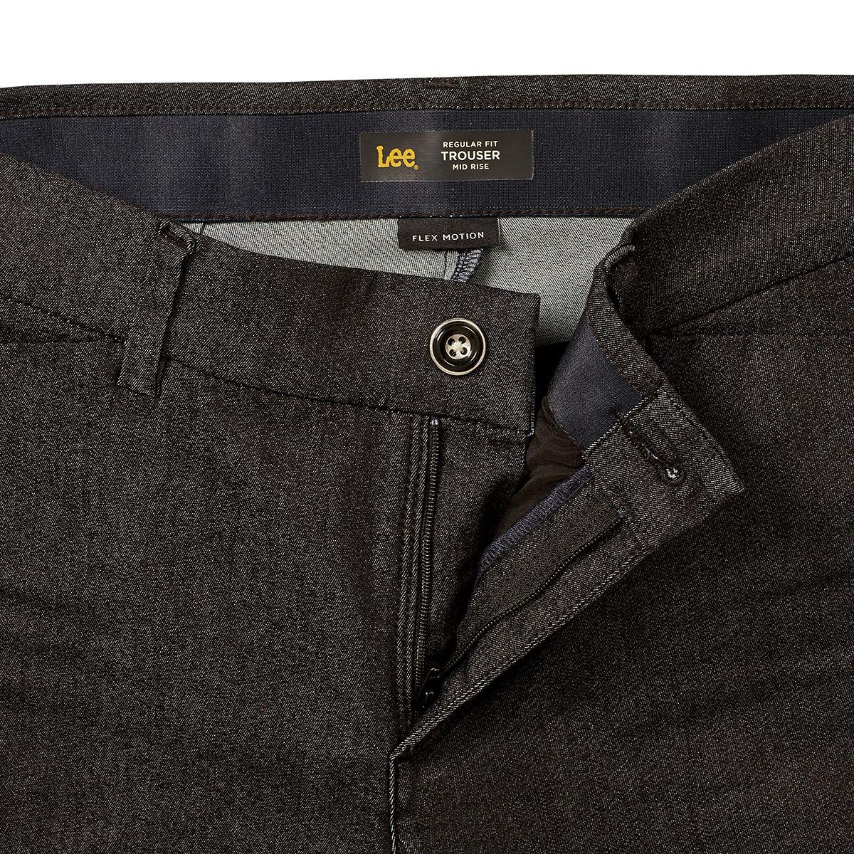 Women's Lee® Flex Motion Trouser Pants Indigo Rinse aen7z