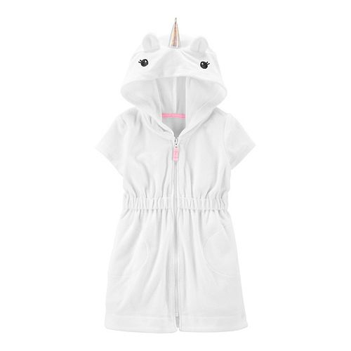 Baby Girl Carter's Unicorn Hooded Cover-Up