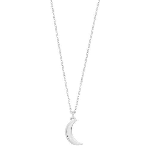 LC Lauren Conrad Nickel Free Moon Pendant Necklace