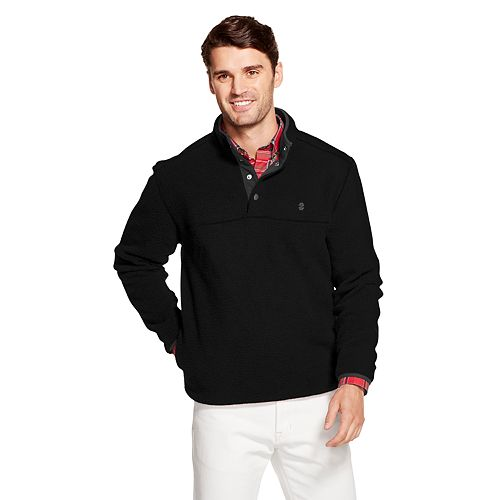Men's IZOD Sportswear Snap-Front Pullover Fleece