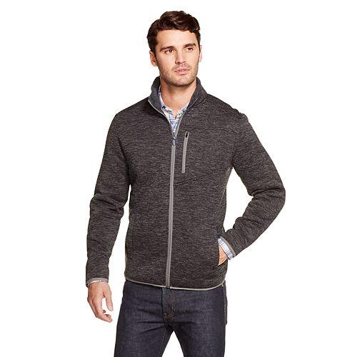mens-izod-sportswear-knit-sherpa-lined-jacket by izod