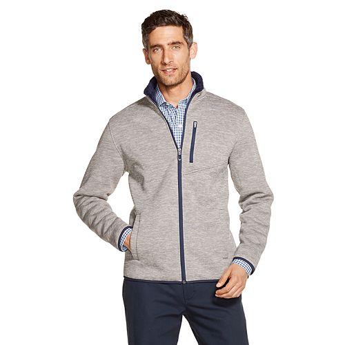 Men's IZOD Sportswear Knit Sherpa-Lined Jacket