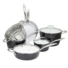 Studio Cuisine 11-pc. Forged Aluminum Cookware Set