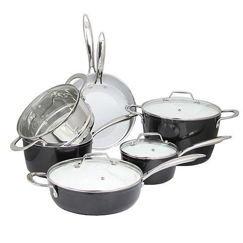 Studio Cuisine 11-pc. Forged Aluminum Cookware Set