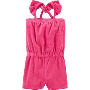 Toddler Girl Carter's Swim Cover-Up Romper