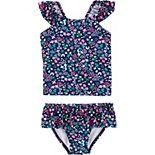 Toddler Girl Carter's Floral 2-Piece Tankini Set