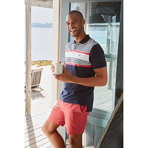 Men's Chaps Classic-Fit Striped Everyday Polo