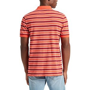 Men's Chaps Classic-Fit Everyday Striped Polo