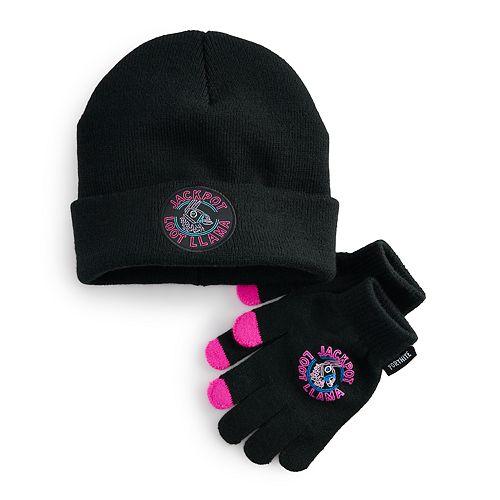 Boys 8-20 Fornite Hat & Gloves Set