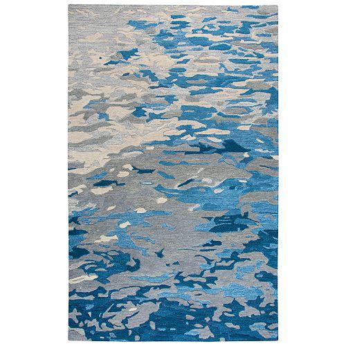 Rizzy Home Tina Vogue Dark Blue/Gray Rug