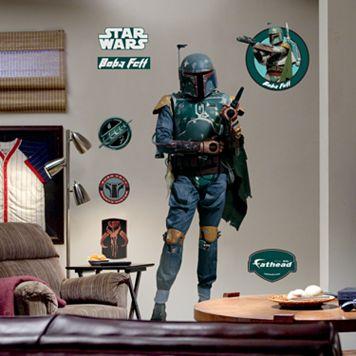 Fathead® Star Wars® Boba Fett™ Wall Decal