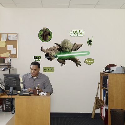 Fathead Star Wars Yoda Wall Decal