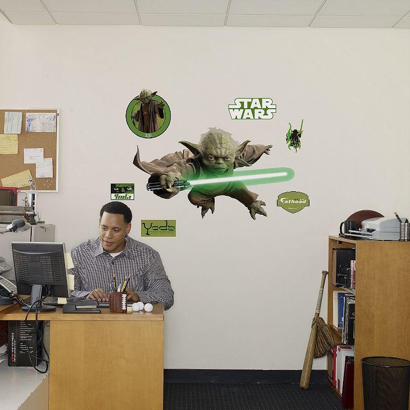 Fathead Star Wars Yoda Wall Decal