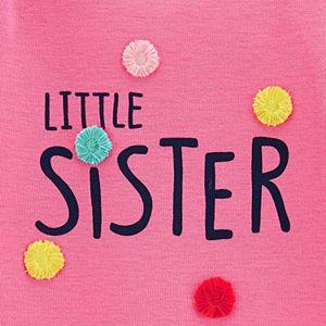 Baby Girl Carter's Little Sister Bodysuit