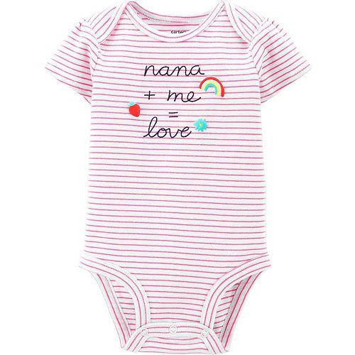 Baby Girl Carter's Nana Graphic Bodysuit
