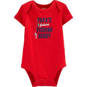 "Baby Carter's ""Papa's Future Fishing Buddy"" Bodysuit"
