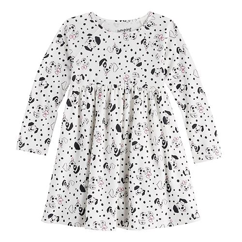 Disney's 101 Dalmatians Toddler Girl Babydoll Dress by Jumping Beans®