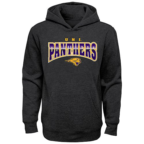 Boy's 4-20 NCAA Northern Iowa Panthers Charcoal Promo Fleece