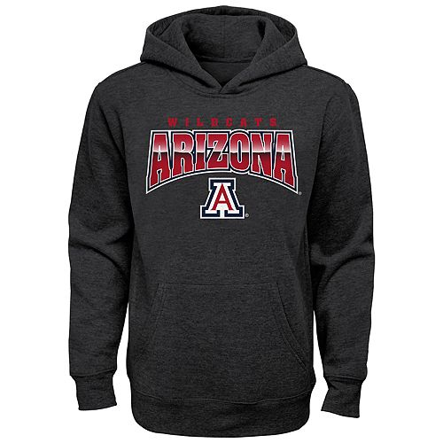Boy's 4-20 NCAA Arizona Wildcats Charcoal Promo Fleece