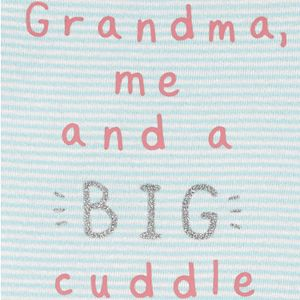Baby Girl Carter's Grandma Cuddle Collectible Romper
