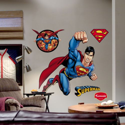 Fathead Superman Wall Decal