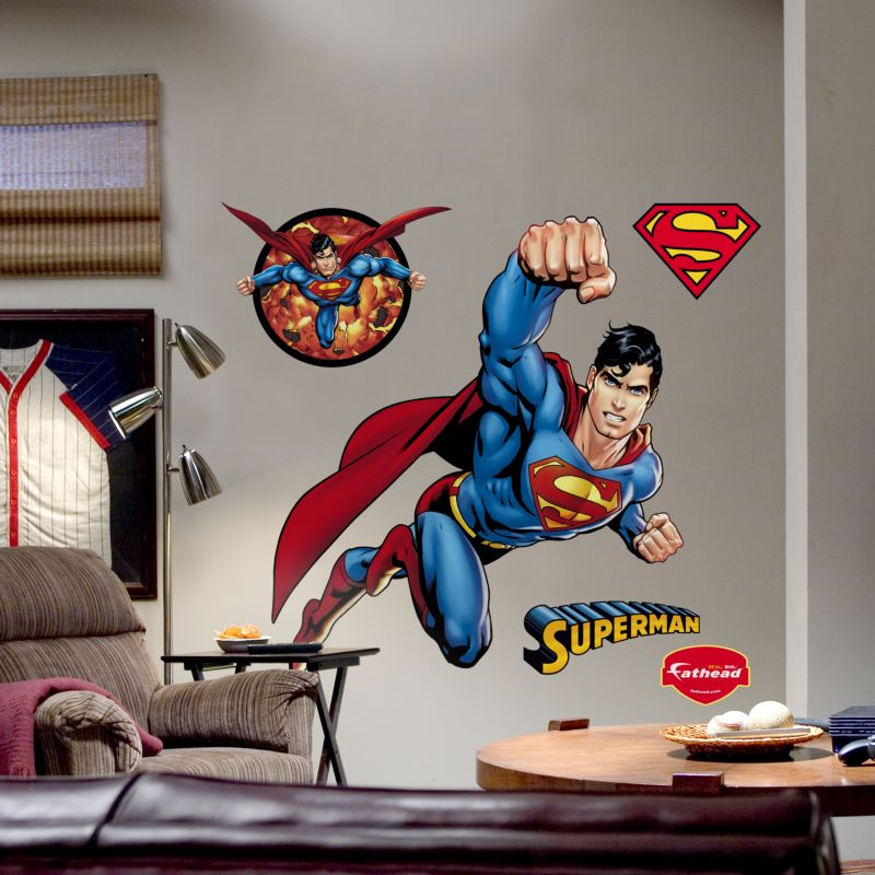 superman wall decals