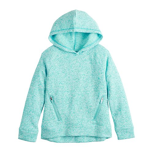 Girls 4-12 Jumping Beans® Heathered Fleece Hoodie