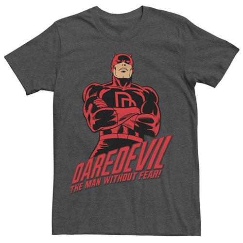 Men's Marvel's Daredevil The Man Without Fear Stance Tee