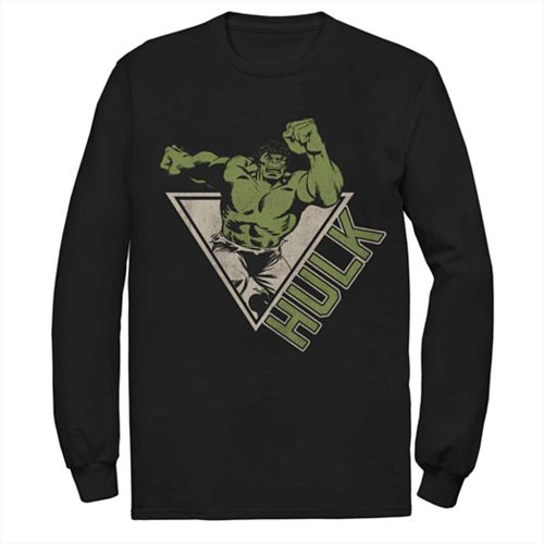 Men's Marvel Hulk Retro Jump Logo Fleece