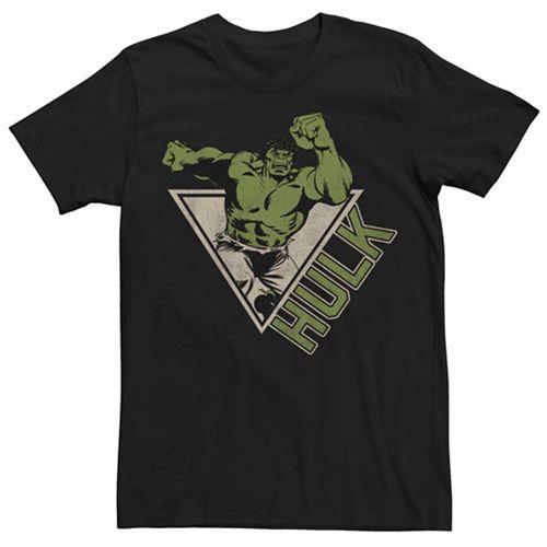 Men's Marvel's Hulk Retro Jump Logo Tee