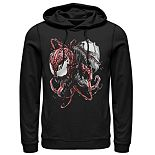 Men's Marvel Carnage And Venom Graphic Hoodie