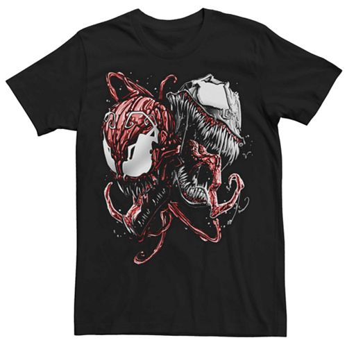 Men's Marvel's Carnage And Venom Graphic Tee