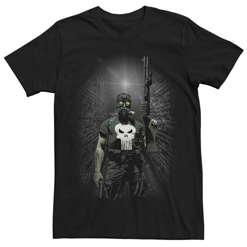 Men's Marvel's Punisher Night Vision Portrait Tee