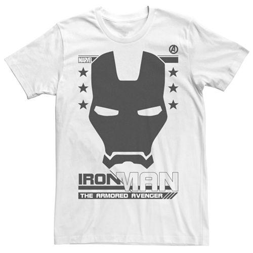 Men's Marvel's Iron Man The Armored Avenger Poster Tee